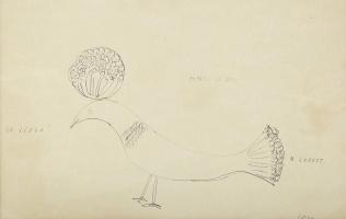 Константин Бранкузи. Птица с хохолком