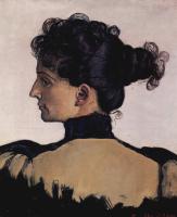 Портрет Берты Жак, жены художника