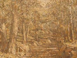 Исаак Израилевич Бродский. Церковь в лесу
