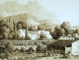 Карл фон Кюгельген. Вид Алупки