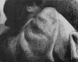 Жорж Сёра. Спящий