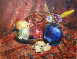 Sasha Latypova. Still life with bulbs