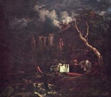 Якоб Исаакс ван Рейсдал. Еврейское кладбище