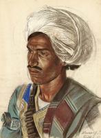 Александр Евгеньевич Яковлев. Афганец. Этюд. 31 мая 193