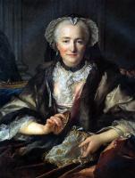 Луи Токке. Супруга генерала Франсуа Бальтазара д'Анже Дюфэ