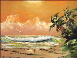 Гарольд Ньютон. Тропический пейзаж 41