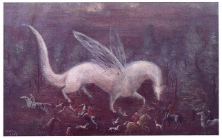 Leonora Carrington. Hunting ermine