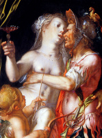 Иоахим Эйтевал. Афродита и Эрос