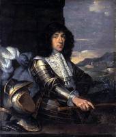 Себастьян Бурдон. Портрет мужчины в латах