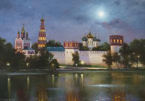 Сергей Николаевич Соловьёв. Новодевичий монастырь