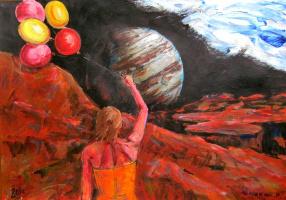 Восход Юпитера