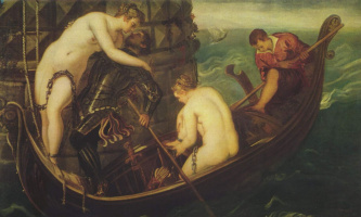 Jacopo Tintoretto. The Rescue Of Arsinoe