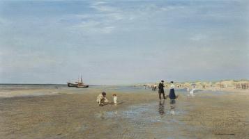 Иван Павлович Похитонов. На пляже