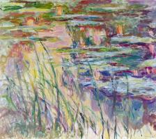 Клод Моне. Кувшинки отражения на воде