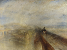Joseph Mallord William Turner. Rain, steam and speed. Great Western railway