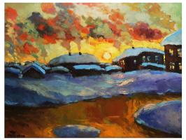 Oleg Vasilyevich Nosyrev. Sunset
