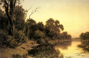 Генри Джеймс Джонстон. Тихая заводь реки Муррей