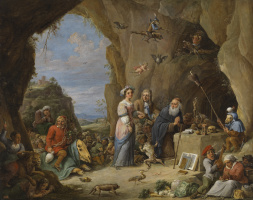 David Teniers the Younger. Temptation of St. Anthony