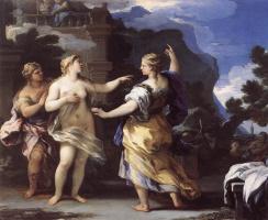 Лука Джордано. Венера, карающая Психею