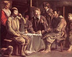 Братья Найн. Крестьянская трапеза
