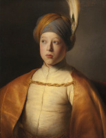 Ян Ливенс. Мальчик в плаще и тюрбане (Портрет принца Руперта Пфальцского)