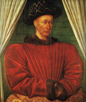 Жан Фуке. Портрет Карла VII