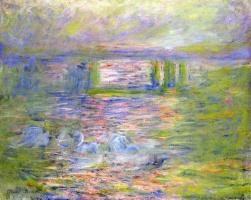 Claude Monet. Bridge To Charing Cross