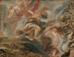 Peter Paul Rubens. Expulsion from the Garden of Eden