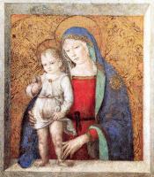 Пинтуриккио. Богородица с младенцем