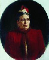 Николай Васильевич Неврев. Портрет Г. Н. Федотовой, актрисы Малого театра. 1892