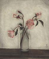 Цугухару Фудзита ( Леонар Фужита ). Букет роз