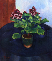 Henri Manguin. Pelargonium