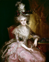 Висенте Лопес-и-Портанья. Мария Пилар де ла Серда, герцогиня Нахера