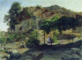 Lev Feliksovich Lagorio. Southern landscape