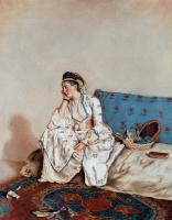 Жан-Этьен Лиотар. Портрет дамы