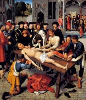 Герард Давид. Суд Камбиса (правая створка диптиха)