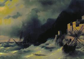 Иван Константинович Айвазовский. Буря на море