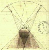 Леонардо да Винчи. Градации теней на сферах