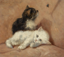 Генриетта Роннер-Книп. Два котенка