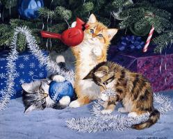 Пэрис Клейтон Вейрс. Игры котов