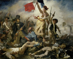 Eugene Delacroix. Liberty leading the people