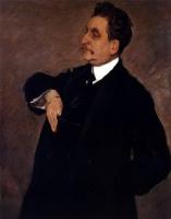 Valentin Aleksandrovich Serov. Portrait Of V. O. Flag