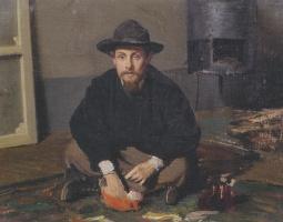 Giovanni Boldini. Portrait of Diego Martelli