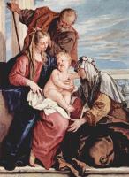 Себастьяно Риччи. Святое семейство со св. Анной