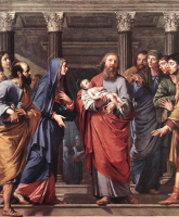 Филипп де Шампень. В храме