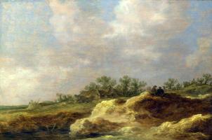 Ян ван Гойен. Коттедж в степи