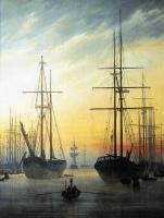 Каспар Давид Фридрих. Вид на Гавань