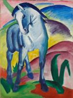 Франц Марк. Синяя лошадь