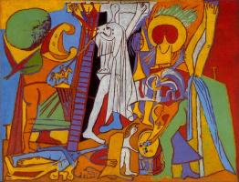 Pablo Picasso. The Crucifixion