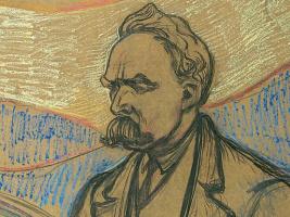 Эдвард Мунк. Портрет Фридриха Ницше